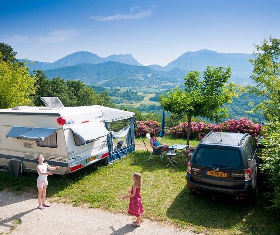 Camping Le Couspeau dans la Drôme