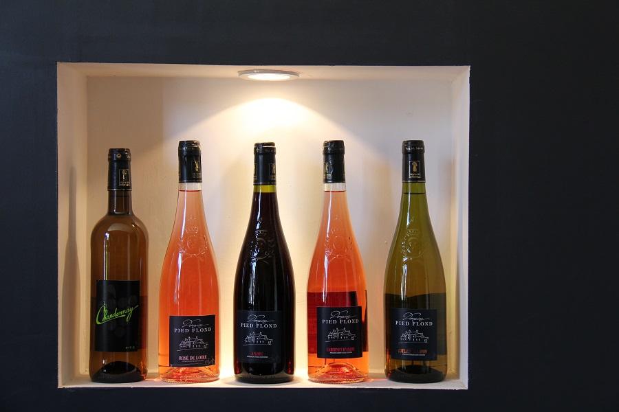 Les vins du Domaine de Pied-Flond à Martigné-Briand
