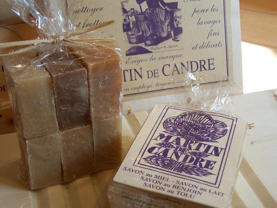 La savonnerie Martin-de-Candre à Fontevraud