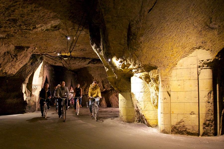 Visite des caves Bouvet-Ladubay