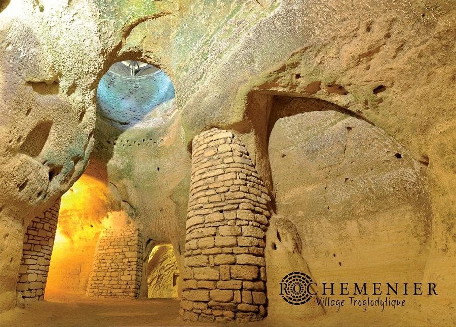 La chapelle souterraine de Rochemenier
