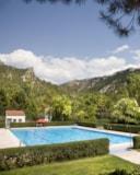 vacances en montagne avec piscine