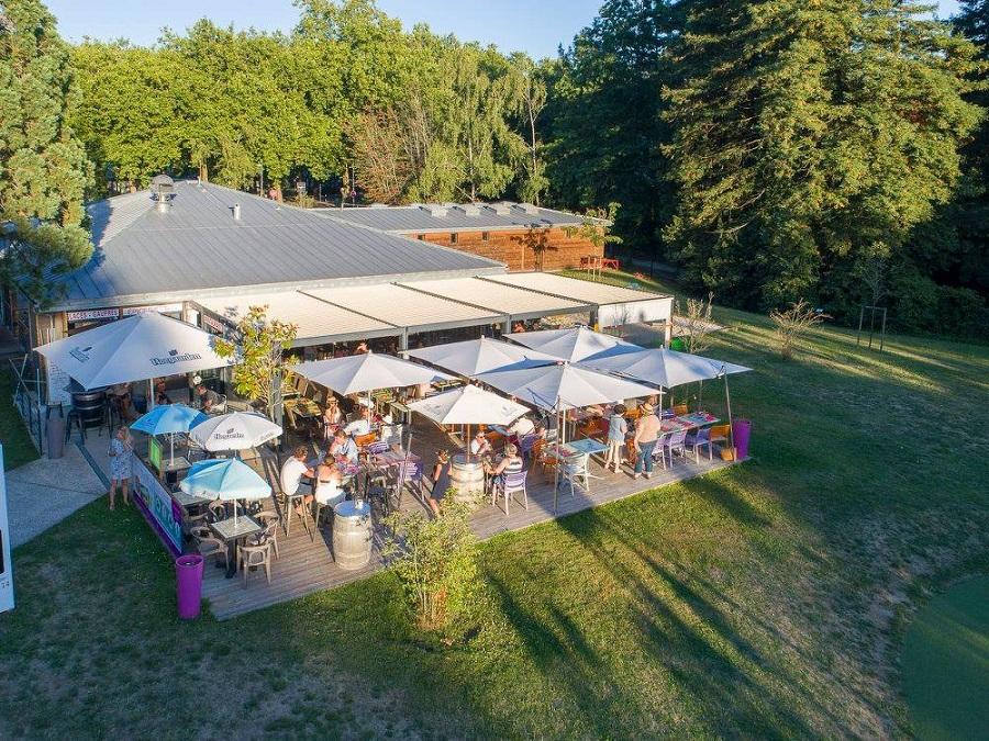 Le bar-restaurant du camping de Nantes
