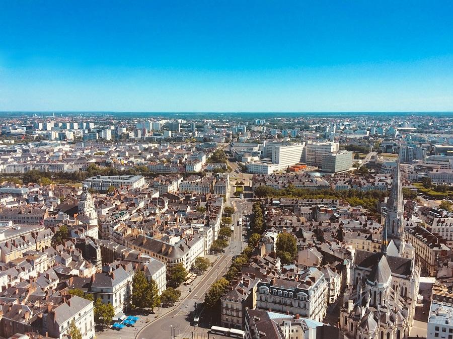 Nantes et la basilique Saint-Nicolas