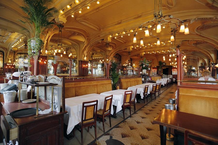 Art Nouveau à la brasserie L'Excelsior à Nancy