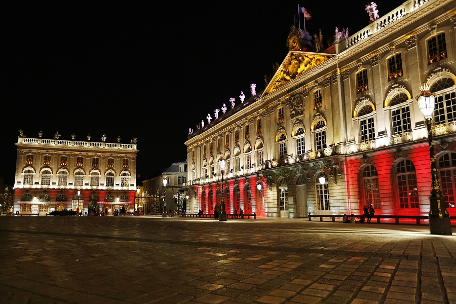 Spectacle son et lumière place Stanislas à Nancy
