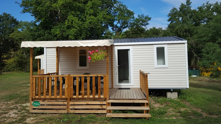 Mobil-home au Camping Robinson