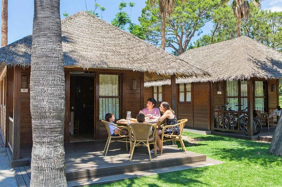 Bungalow Bali au camping Sangulí Salou
