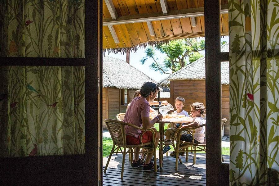 Bungalow Bali dans la zone Polynésie au Sangulí Salou