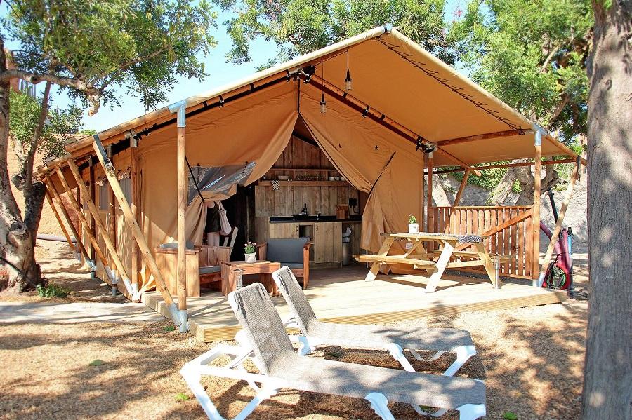 Tente safari au camping Sangulí Salou