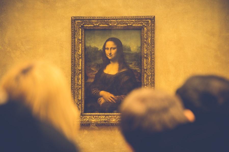 La Joconde au Musée du Louvre