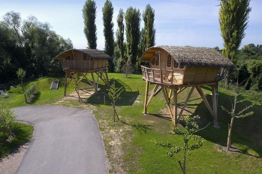 Les cabanes perchées de Maisons Laffitte
