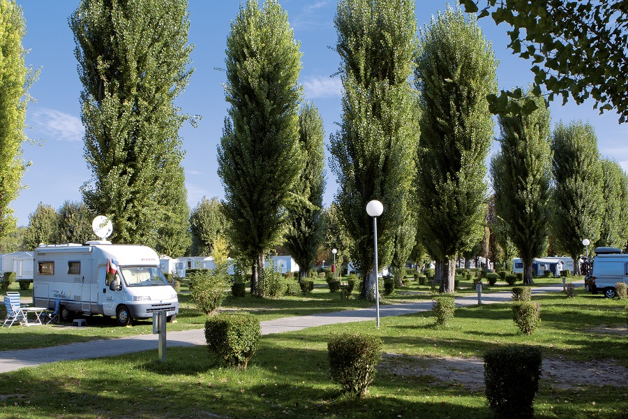 Le camping de Maisons-Laffitte en pleine nature