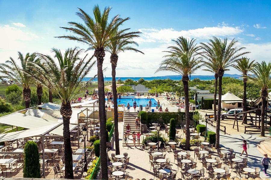 Le camping Castell Mar en Catalogne