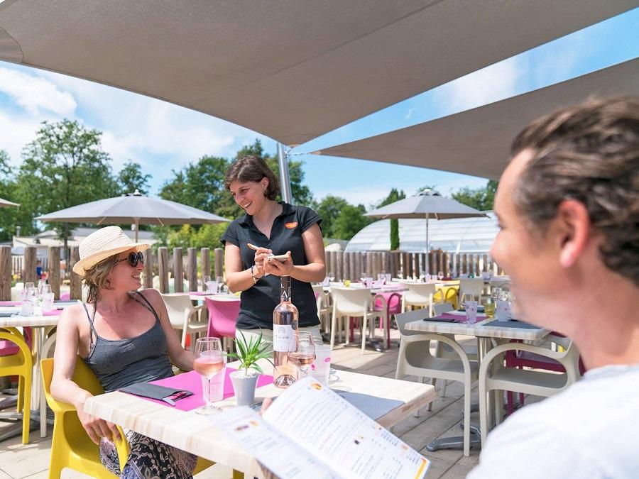 Restaurant au camping Parc du Val de Loire