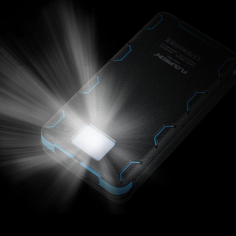 Chargeur de batterie et lampe de poche Floureon