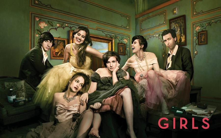 """La série """"Girls"""" de Lena Dunham"""