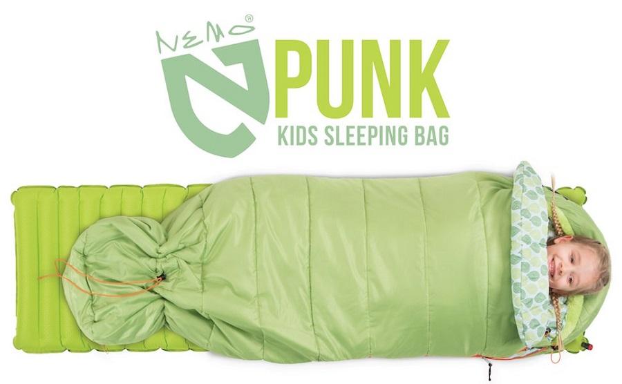 Le sac de couchage pour enfants de Nemo Equipment