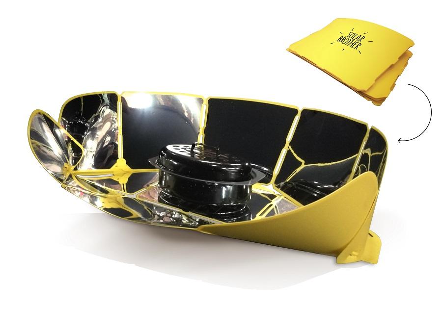 Le cuiseur solaire Sungood de Solar-Brother