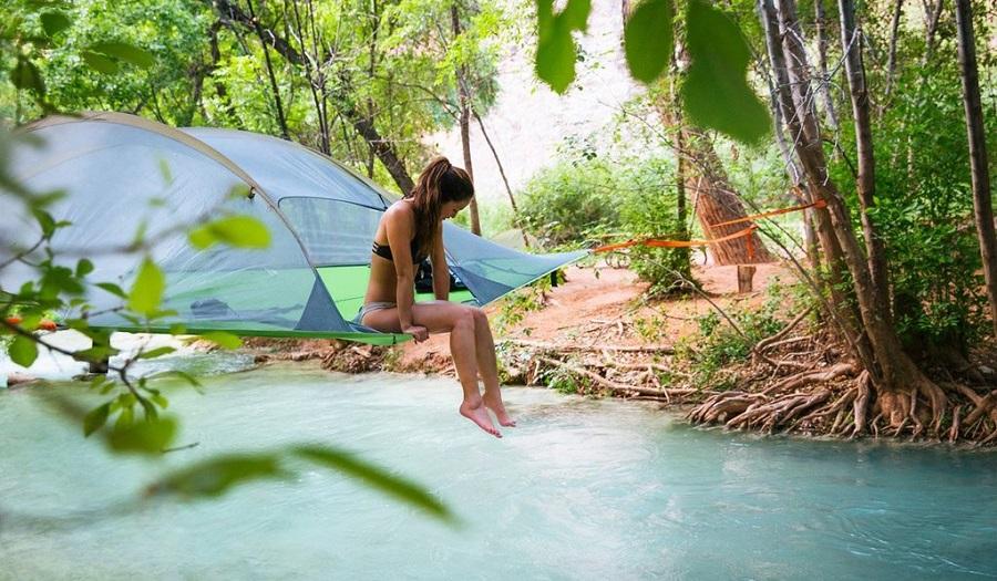 La tente suspendue Tentsile