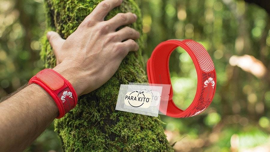 Les bracelets anti-moustiques de Para'Kito