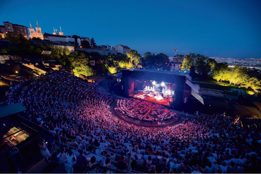 Festival Les Nuits de Fourvière à Lyon