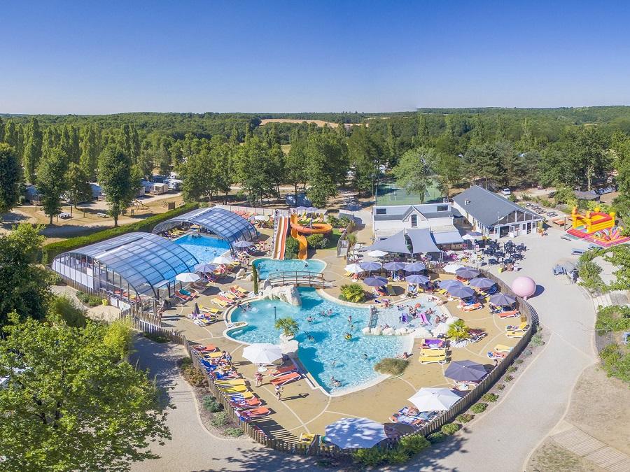 Camping Parc du Val de Loire 5 étoiles à Mesland