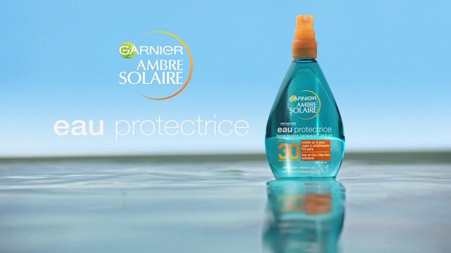 Eau Protectrice Ambre Solaire de Garnier