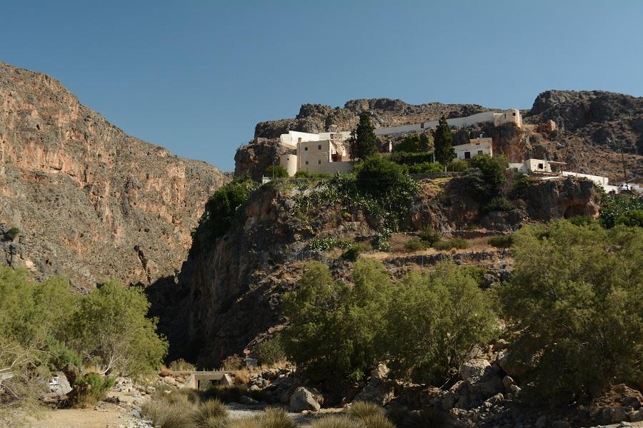 Le monastère de Moni Kapsa