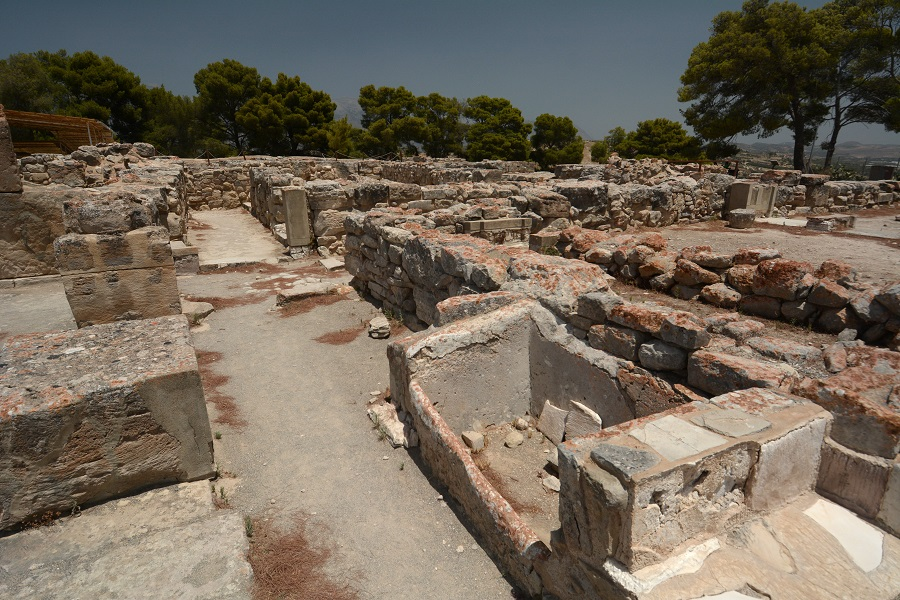 Le palais de Phaistos