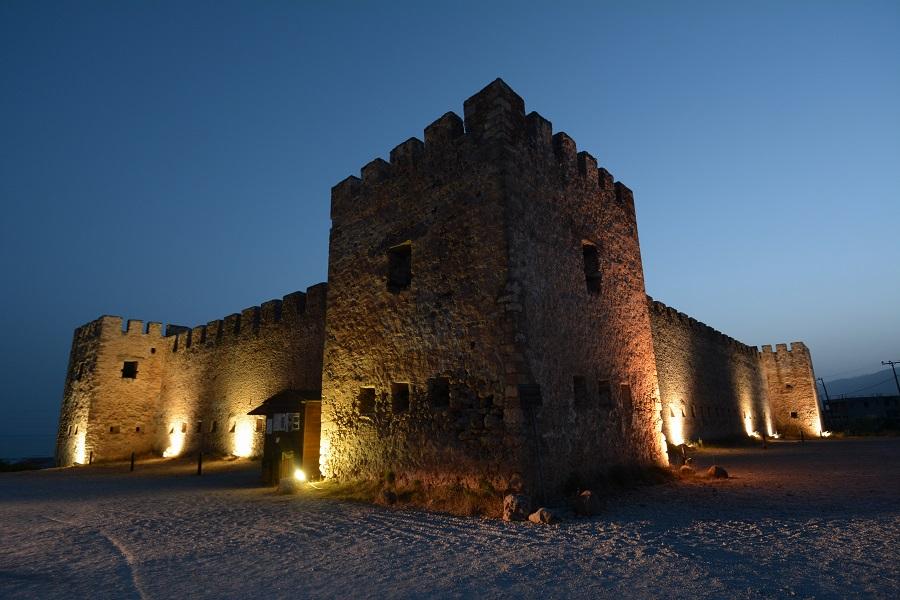 Le château de Frangokastello