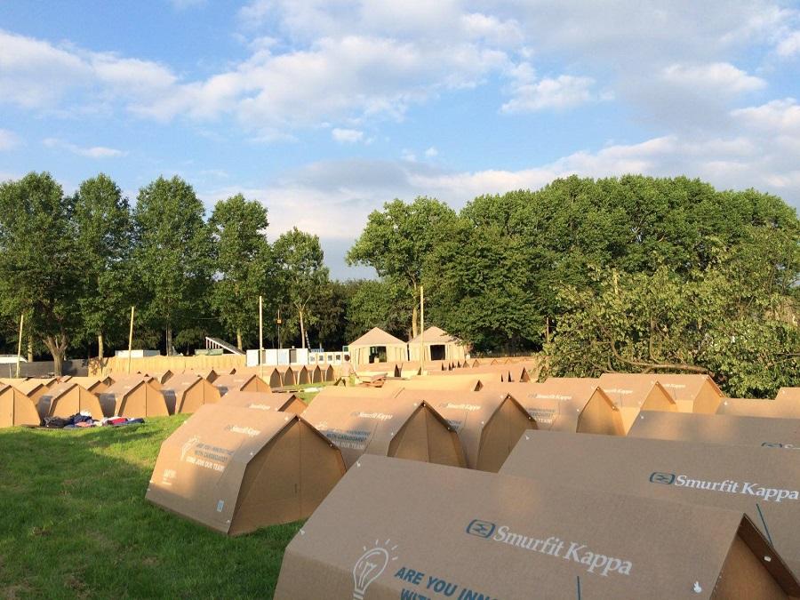 La tente éphémère Kartent