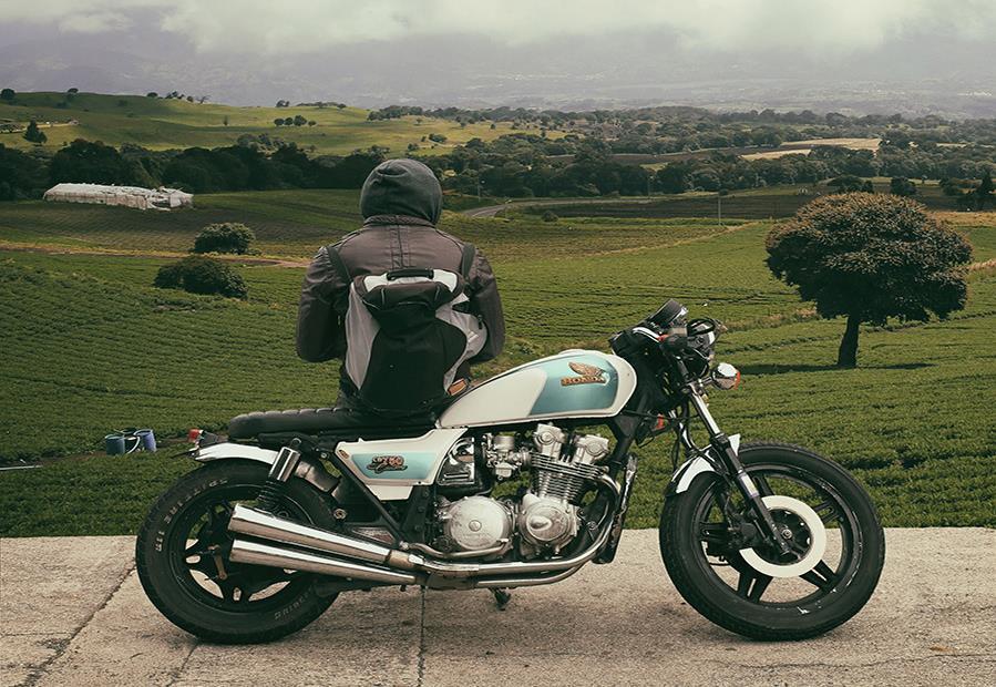 Sac à dos moto