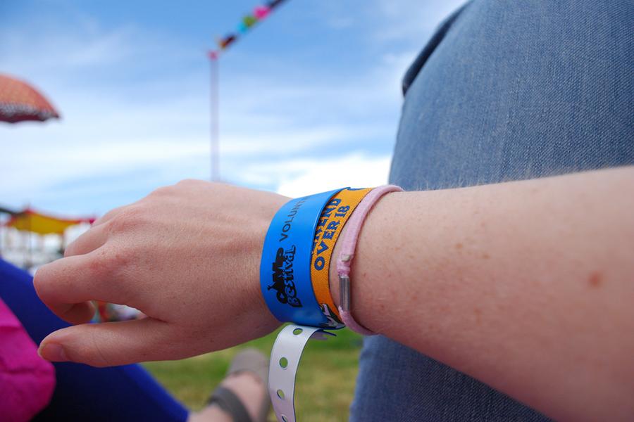 Bracelets camping