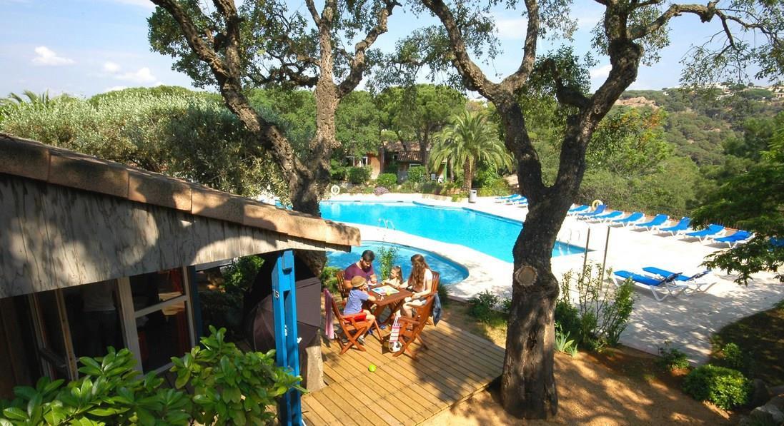 Kleine Camping Costa Brava