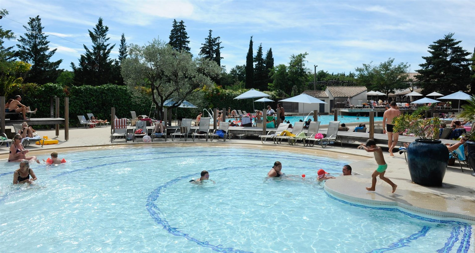 Camping cabourg avec piscine camping normandie piscine for Camping le lavandou avec piscine