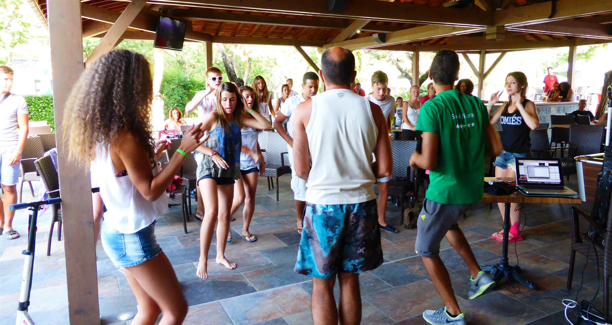 Games and fun when camping in Ardeche