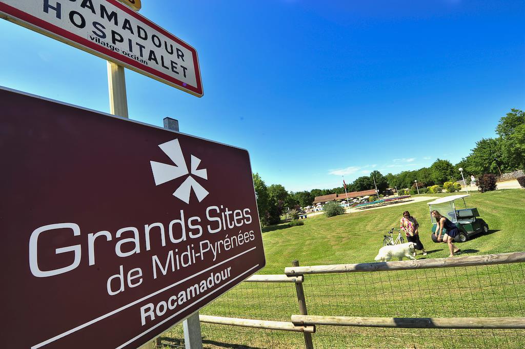 Camping les Cigales, Rocamadour, Lot