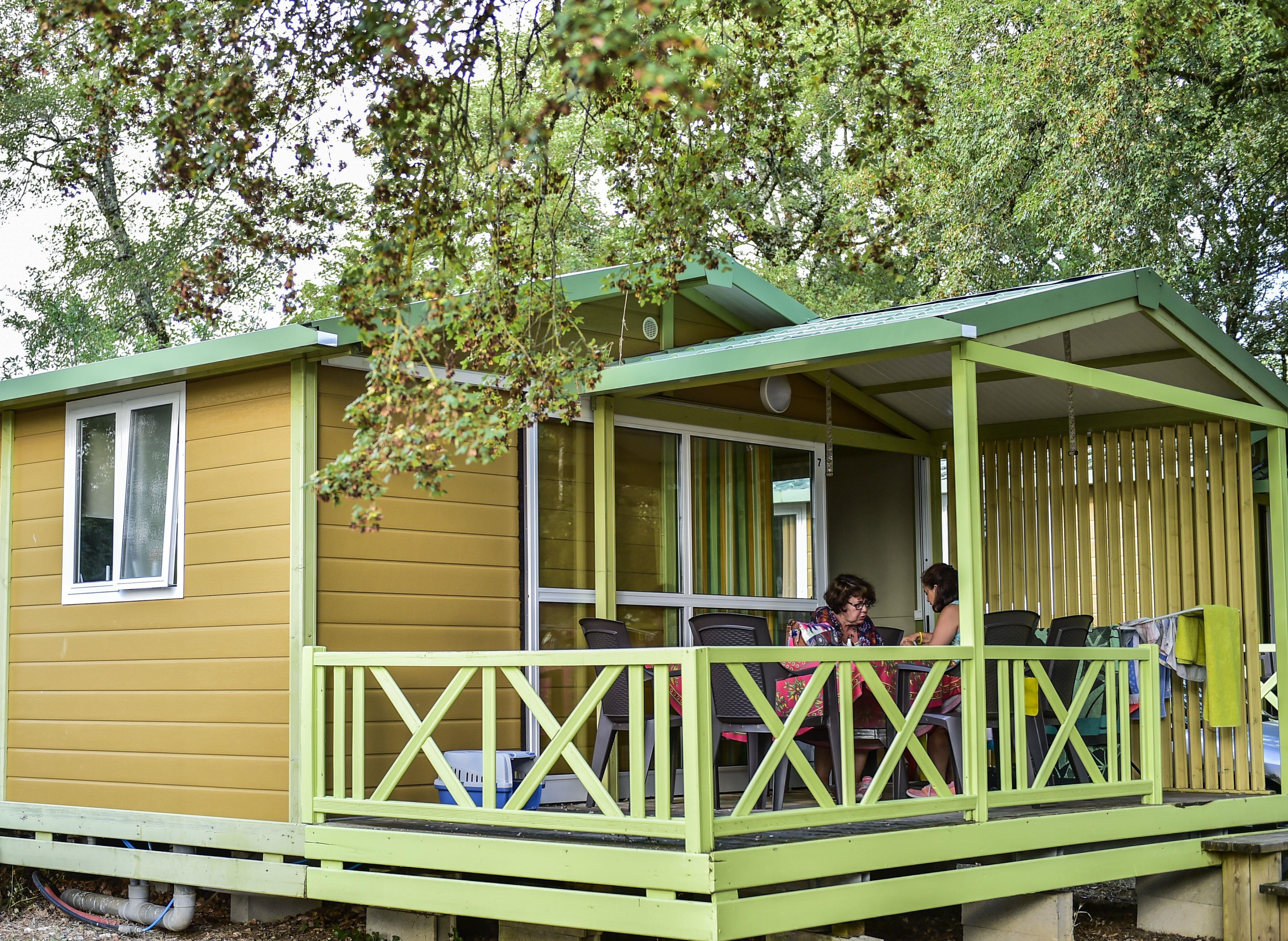 Location - Koawa Pavillon  Classic - Chalet - Camping Les Cigales