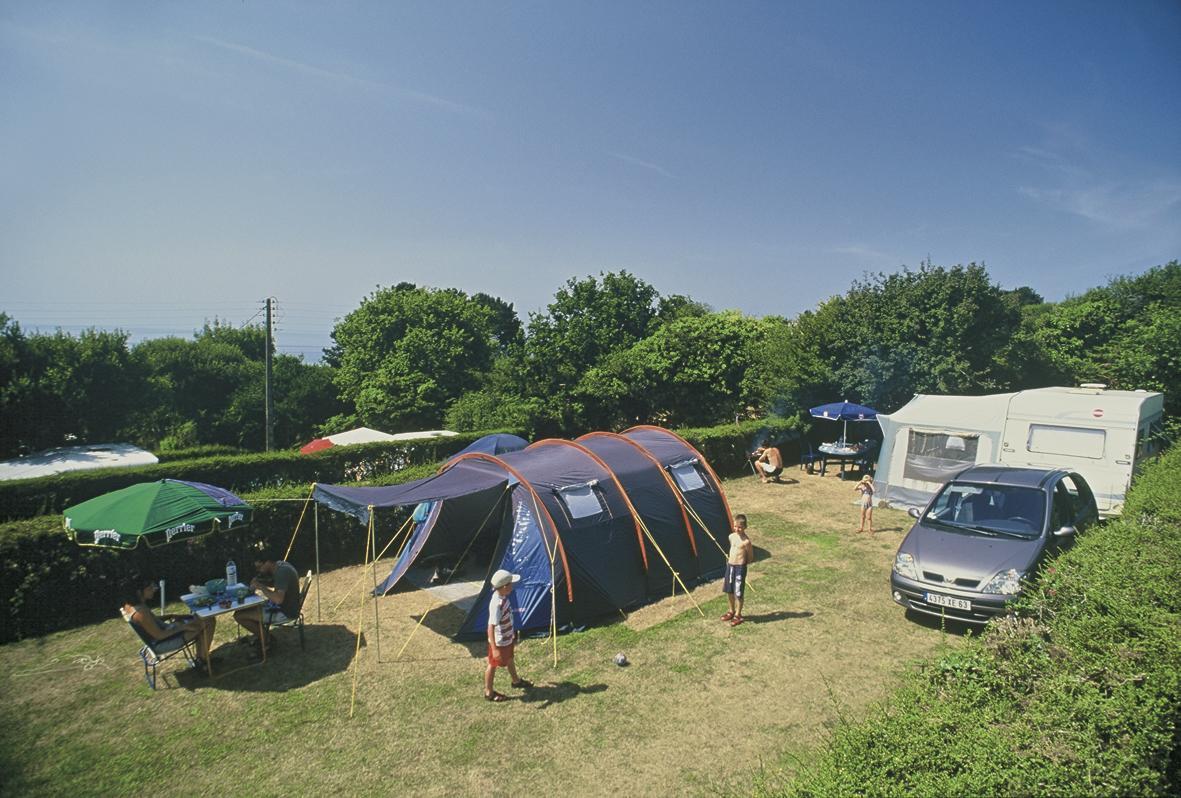 Camping l'Aber, Crozon, Finistère