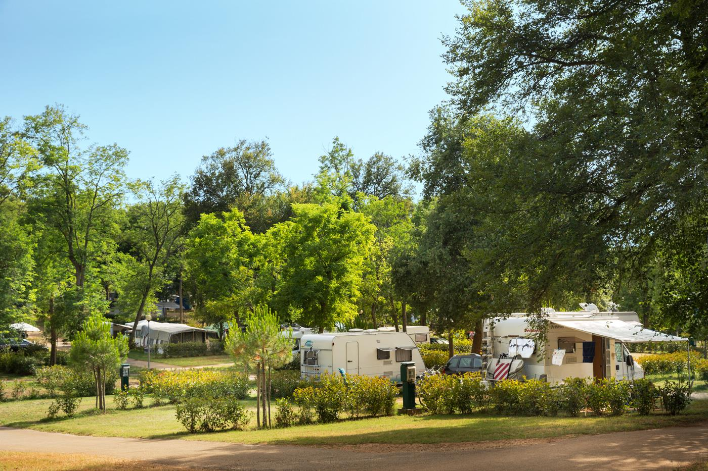 Emplacement - Emplacement Comfort - Aminess Maravea Camping Resort