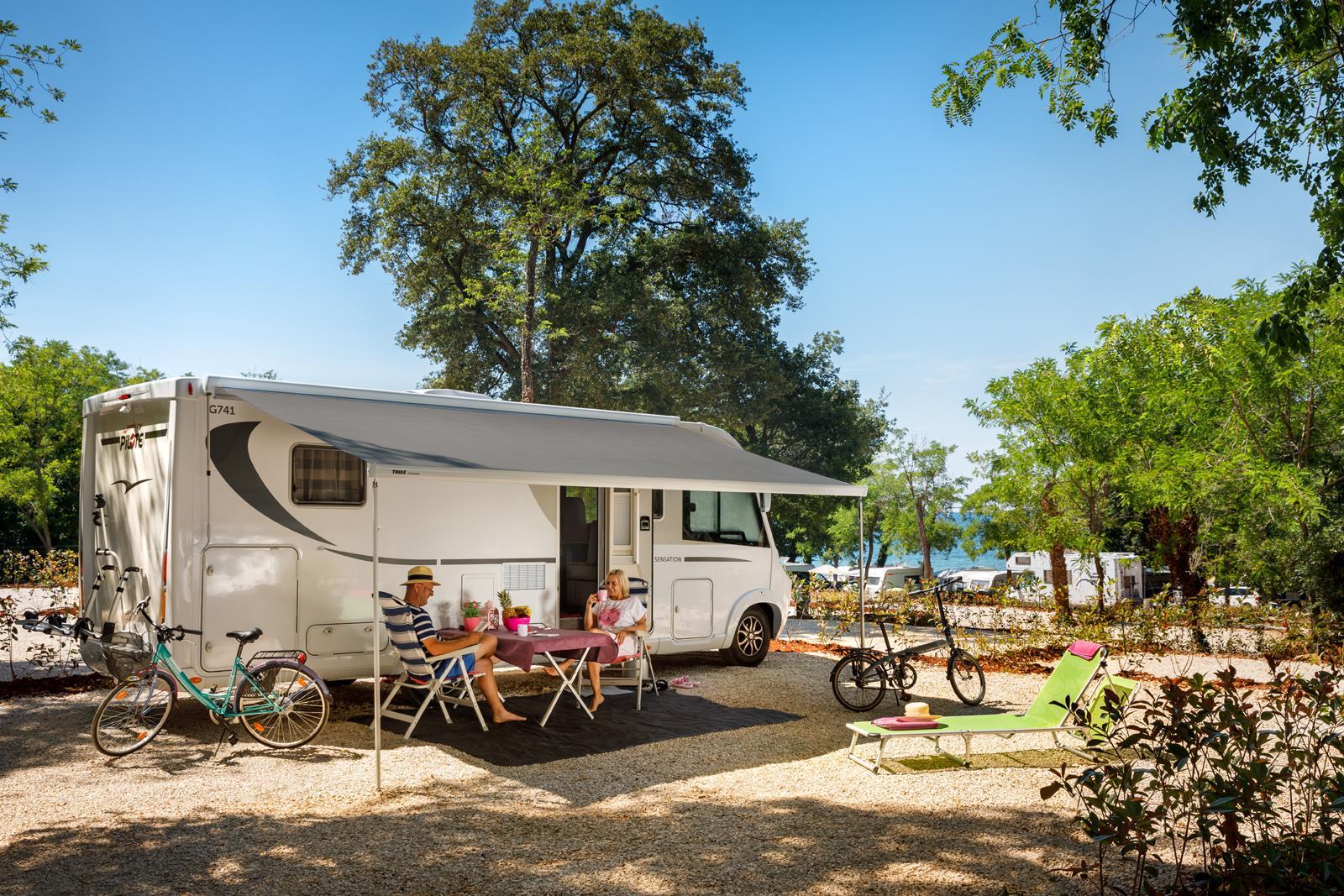 Emplacement - Emplacement Premium - Aminess Maravea Camping Resort