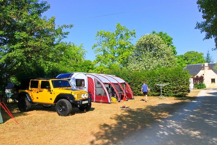 Emplacement - Emplacement Premium - 2 Pers. Comprises Dans Le Tarif - Camping Castel Domaine La Paille Basse