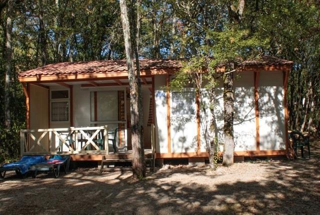 Location - Chalet - 3 Chambres - Camping Castel Domaine La Paille Basse