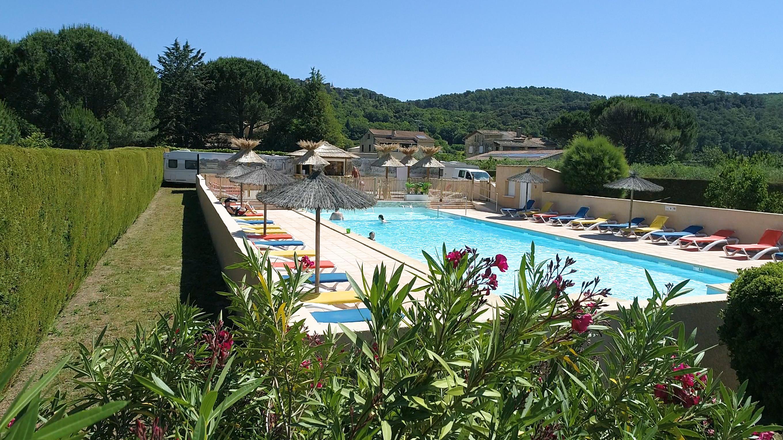 Camping les Amarines, Goudargues, Gard