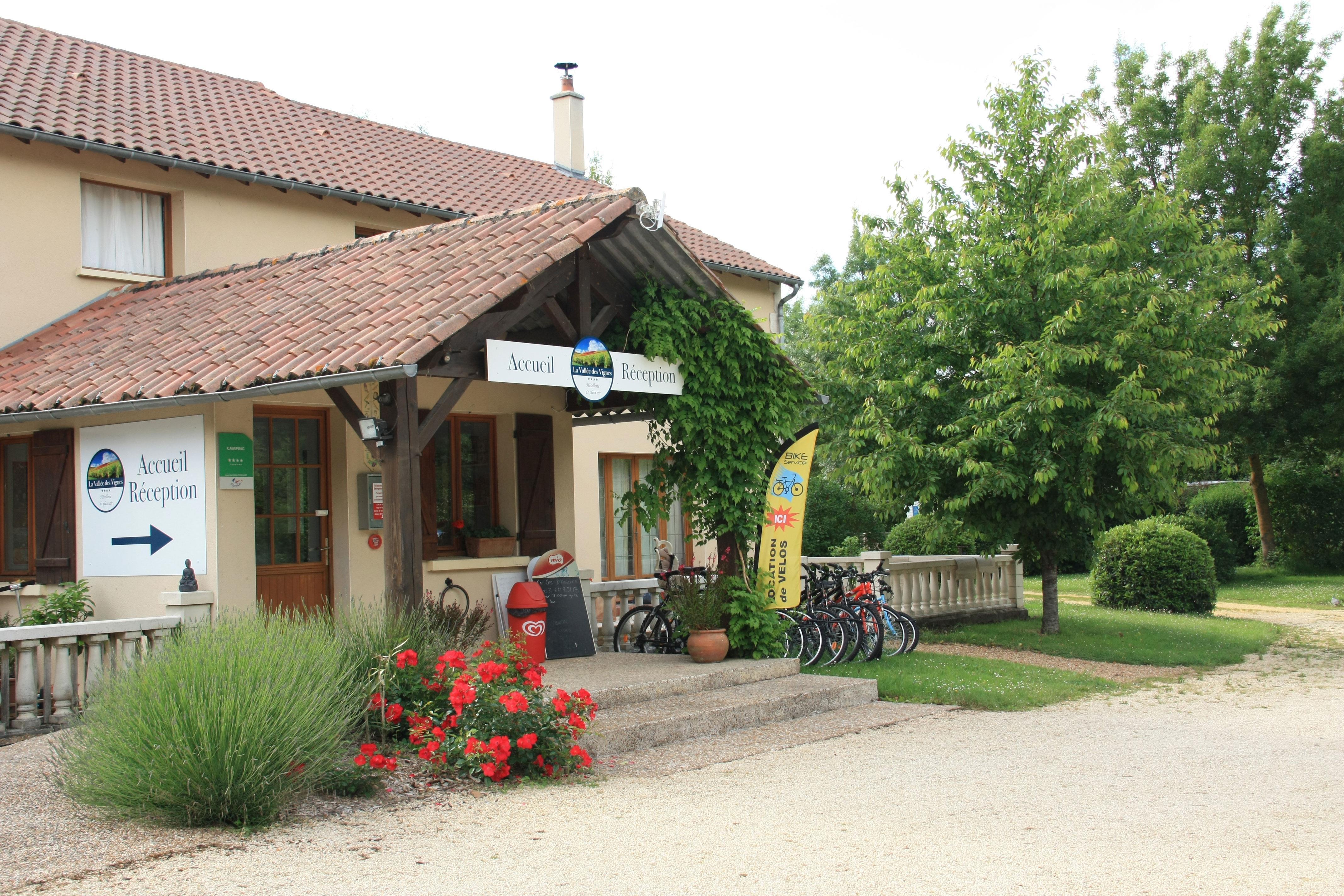 Camping la Vallee des Vignes, Concourson-sur-Layon, Maine-et-Loire