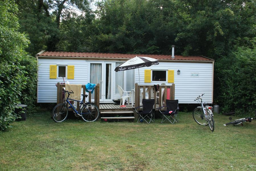 Location - Mobil-Home Willerby - Camping La Vallée des Vignes