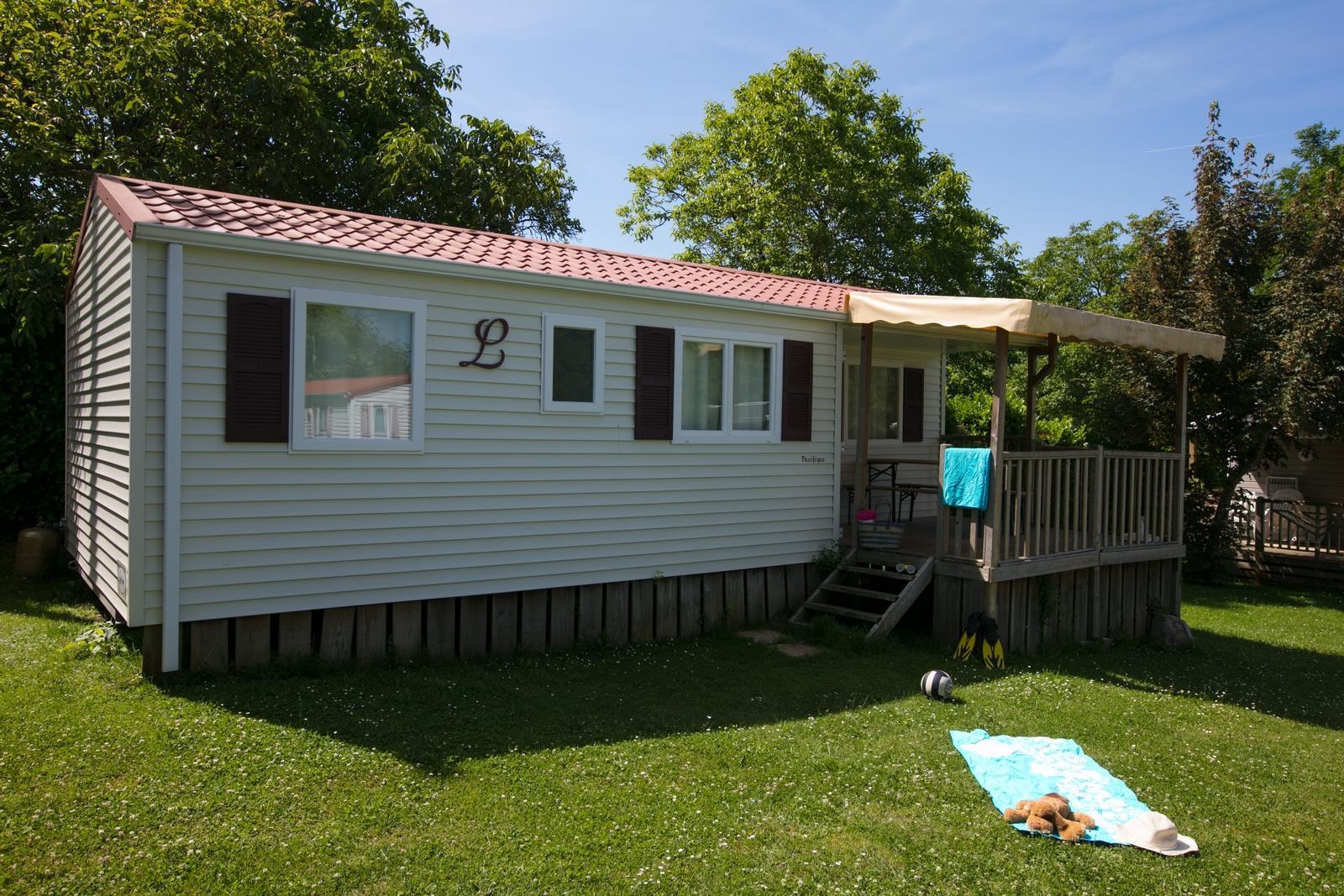 Location - Cottage Autoire Tribu - 3 Chambres - Camping Sites et Paysages Le Ventoulou
