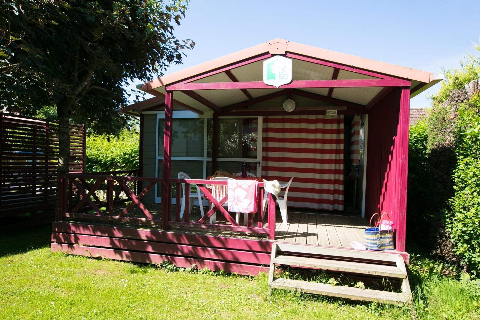 Location - Chalet Limargue (2 Chambres 2 Adultes + 2 Enfants - 14 Ans) - Camping Sites et Paysages Le Ventoulou