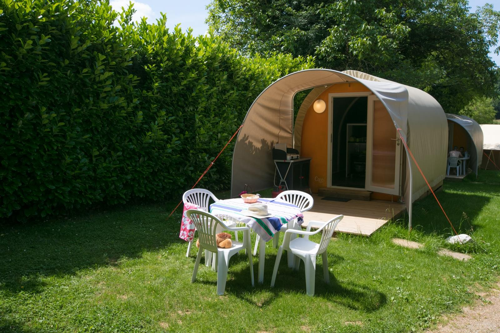 Huuraccommodatie - Coco Sweet Duo (1 Kamer) - Sites et Paysages Le Ventoulou